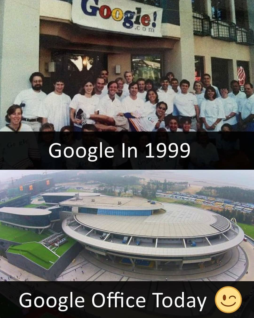"Dream On Science on Instagram: ""In 1999, Google, which had fewer than 10 employees, left Susan Wojcicki's garage for its first office, located nearby at 165 University…"""