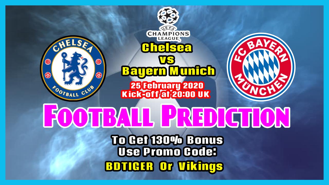 Chelsea vs Bayern Munich    Champions League    25 February 2020    - Bengla Sport