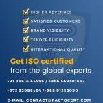 Factocert ISO certification