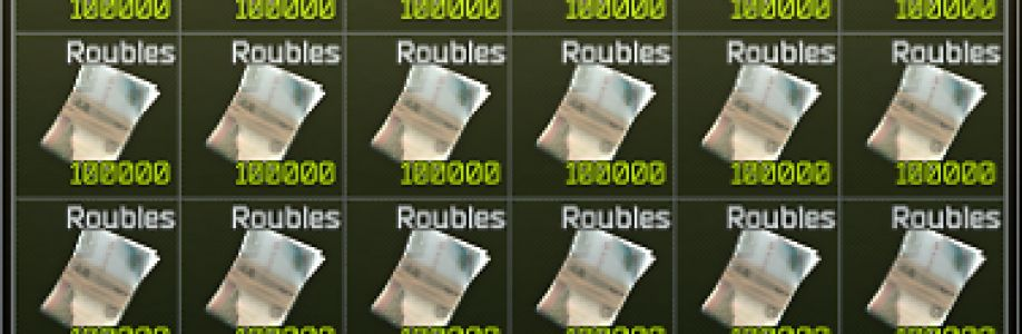 You can find roubles everywhere in the Escape From Tarkov